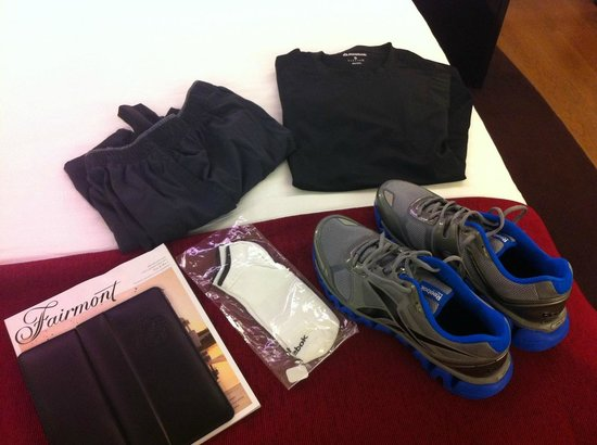 Fairmont Towers Heliopolis: Kit per palestra
