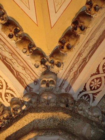 Capela dos Ossos : teto