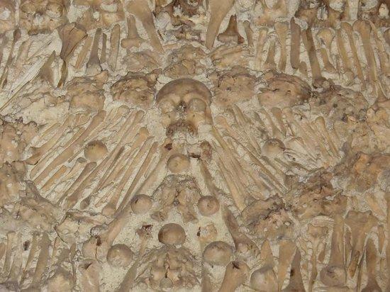 Capela dos Ossos: teto