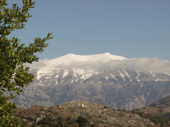Mount Ida: View of Mount Psiloritis