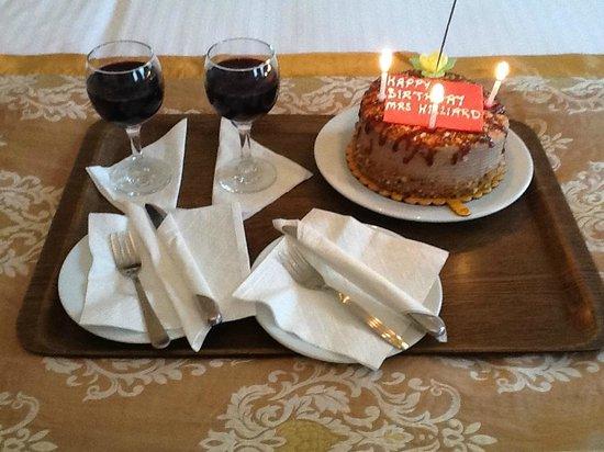 White House Hotel Istanbul: My Birthday cake
