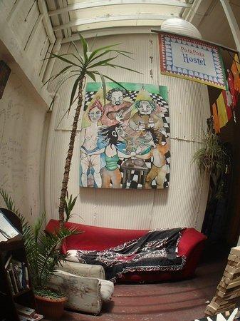 PataPata Hostel: area comun