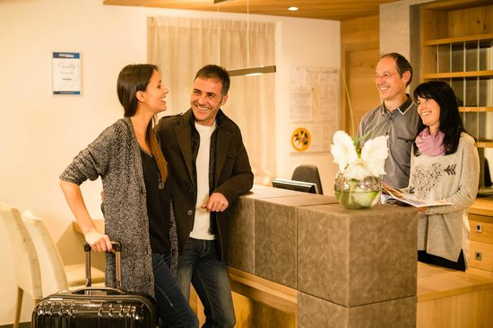 Hotel Sonnblick: Check-In