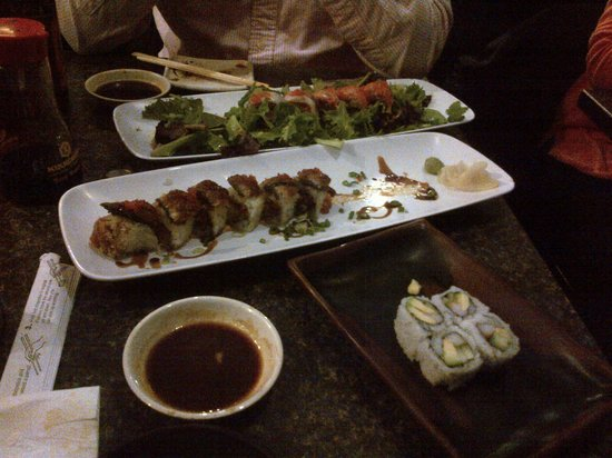 Toro Sushi: Mitch's own selection for us - superb!