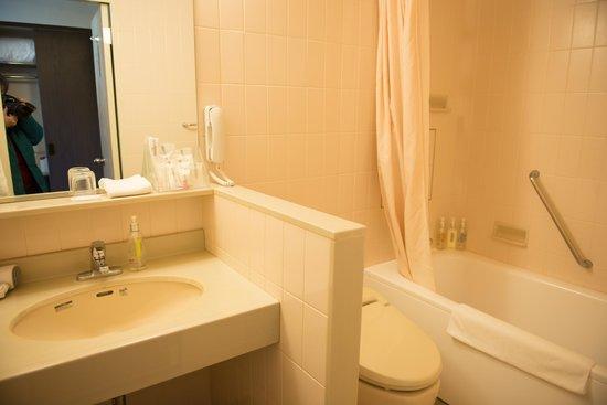 ANA Crowne Plaza Hotel Narita: bathroom area