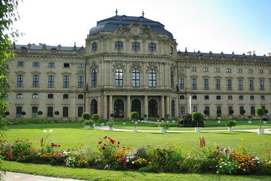 Veitshöchheim Schloss: 裏庭