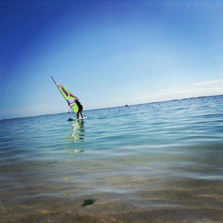 Sugar Beach Resort & Spa: Windsurfing