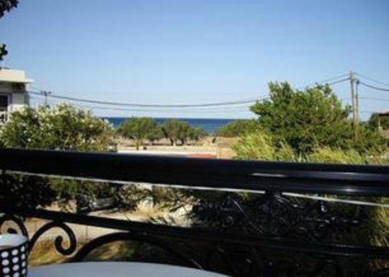 Ton Mari Apartments: view from balcony Apt 9