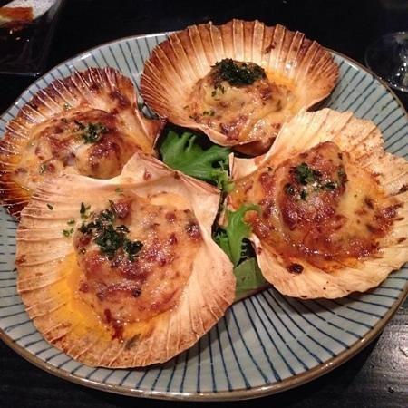 Izakaya Jiro Grill & Sake Bar: The best choice:HOTATE ;) (I love this amazing sauce!)