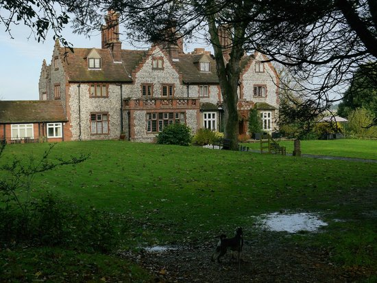 The Dales Country House Hotel: Back of house