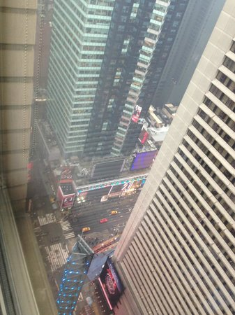W New York - Times Square: View dow to Times Square