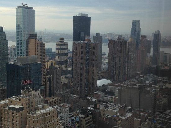 W New York - Times Square: View from the room
