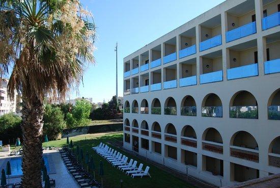 Carlos V Hotel: Vista de la habitación