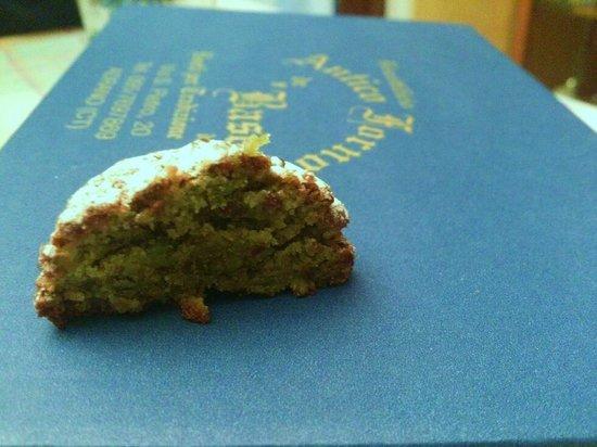 Antico Forno de' Basoni: Pasta al pistacchio