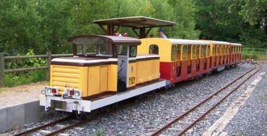 Train Touristique de Anse : Rame diesel - grand gabarit