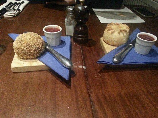 The Stapleton Arms: Homemade pork pie and scotch egg.