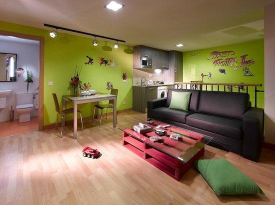 Castro Exclusive Residences Sant Pau : Duplex Fun & Frik