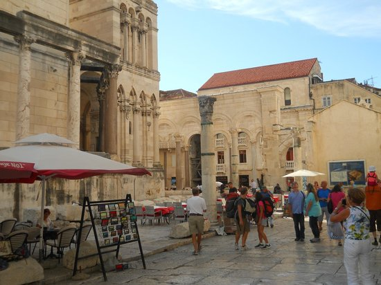 Diokletianpalast: Diocletian's palace