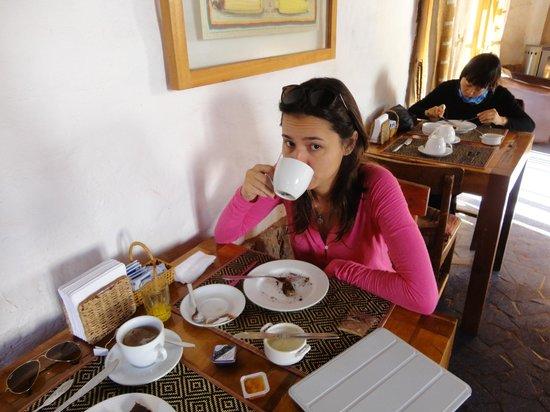 Lodge Andino Terrantai : Café da manhã no hotel