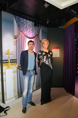 Музей мадам Тюссо в Амстердаме: Принцесса Диана