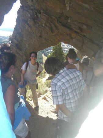 Cavernas del Viejo Volcan Parque Cerro Leones