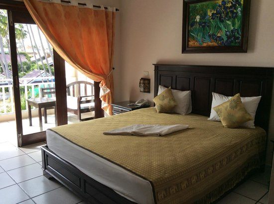 Grace Boutique Resort: My room on arrival
