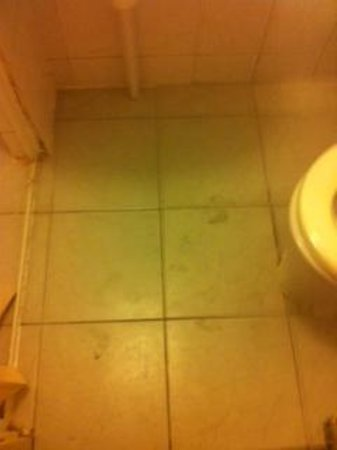 Thorbecke Hotel: Muddy bathroom Floor
