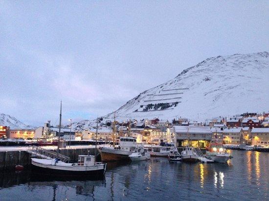 Scandic Bryggen: Vista sul porto