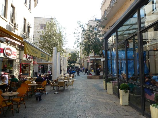 Arthur Hotel Jerusalem - an Atlas Boutique Hotel: Where the hotel is located