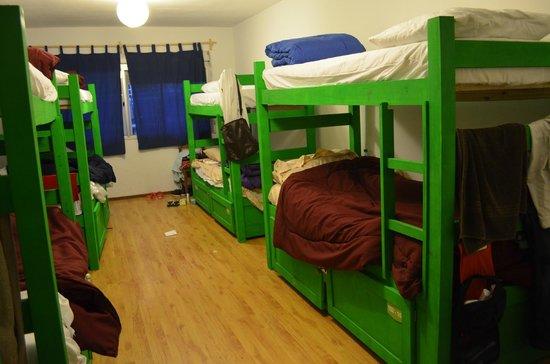 Che Lagarto Hostel Montevideo: habitação feminina compartilhada