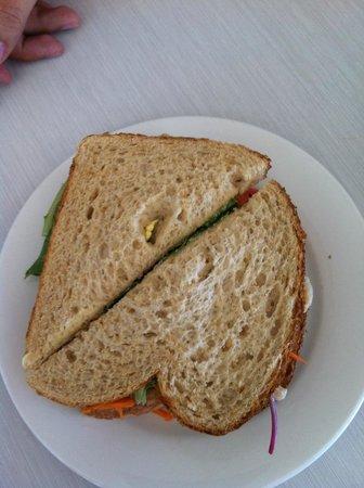 Amaze'n Margaret River: chicken sandwich