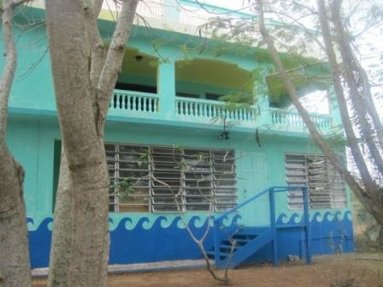 The Hostel on Vieques: outside