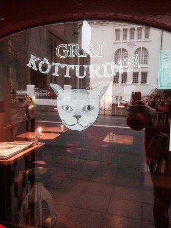Photo of American Restaurant Grai Kotturinn at Hverfisgata 16a, Reykjavik, Iceland