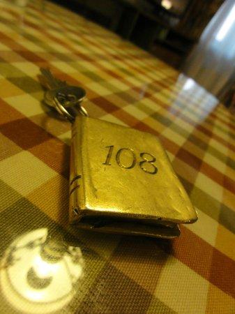 Hotel Gutenbergs : ключ от номера