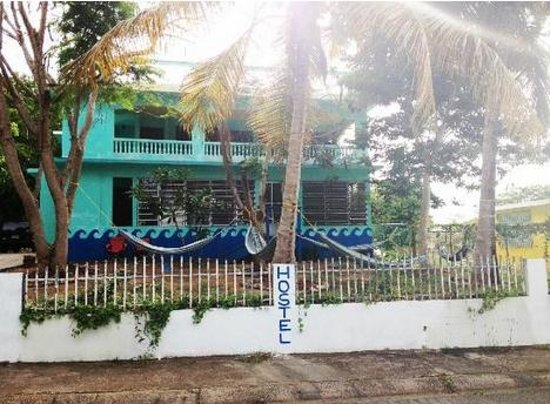 The Hostel on Vieques: view from street