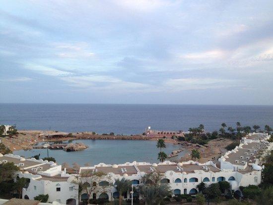 Domina Coral Bay Oasis: Ecco cosa si poteva apprezzare dalla nostra camera..