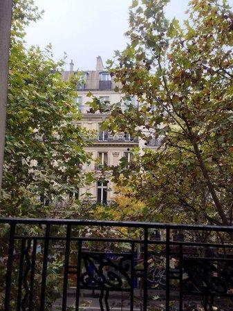 Hotel de l'Europe: 部屋の窓から見える景色