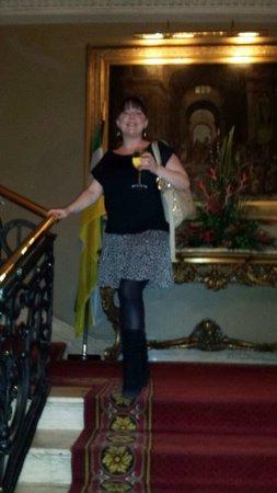 Bridge House Hotel, Spa and Leisure Club: Optional glass of vino