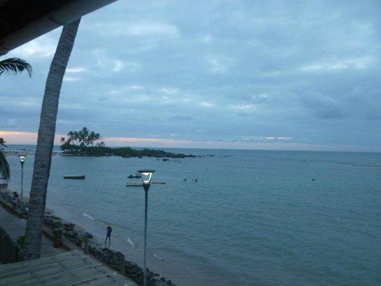 Pousada Agua Viva: vista fim da tarde Ilha