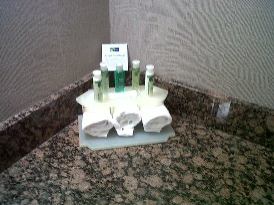 Holiday Inn Rolling Meadows - Schaumburg Area: little of every traveler's necessities provided with clean towels