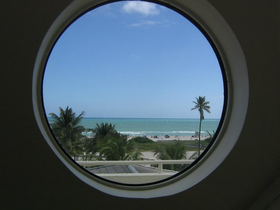 Hotel Ocean: first view when stepping off elevator into your suite