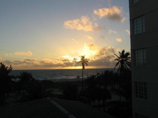 Hotel Ocean: east coast sunrise