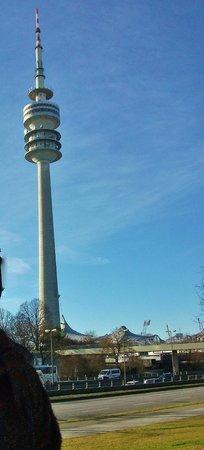 Olympiaturm: Вид на Олимпийский парк