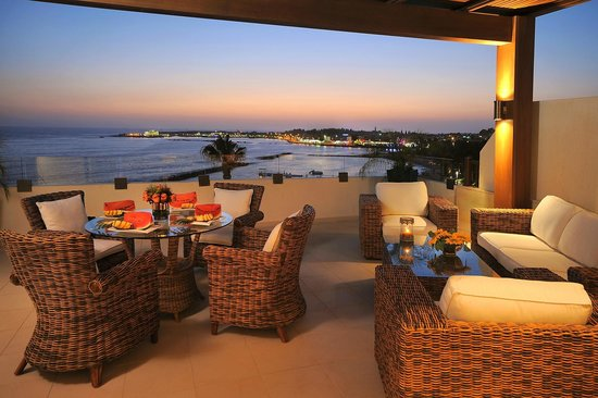 Alexander The Great Beach Hotel: View from the two bedroom presidential suite