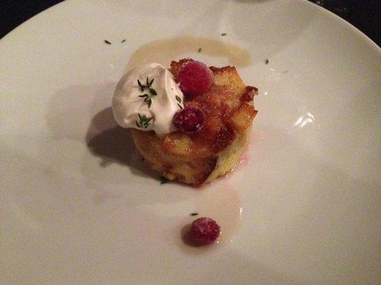 The Inn at Black Star Farms : Apple-Pear Bread Pudding...WOW!