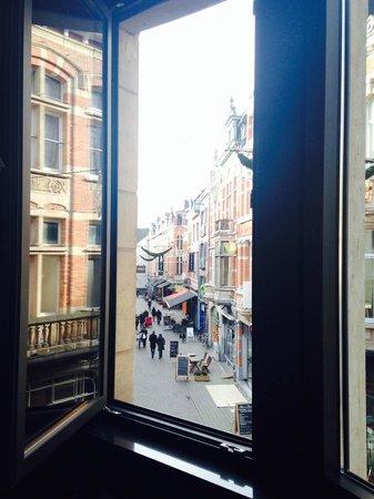 Casa Ra Toca: Uitzicht vanuit kamer, gezellig!