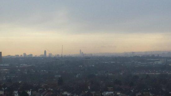 Ibis London Wembley: A view across London at daybreak