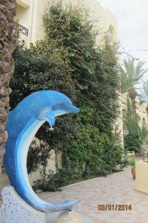"Hotel Paradis Palace : Душ ""Дельфин""."