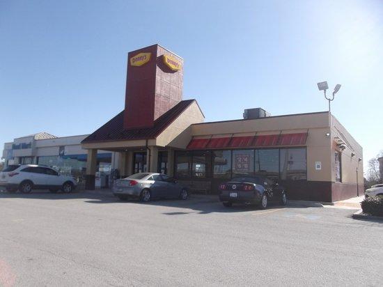Denny's Winnie: Le restaurant au 22 janvier 2014
