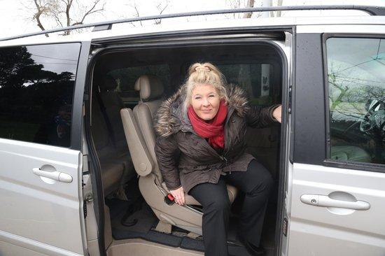 Italy Rome Tour: The Van